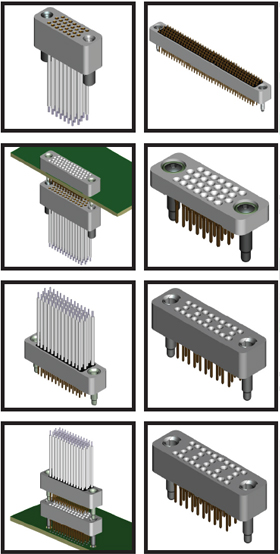 RC Series Board to-Board Stacking High-Density 0.075in Spacing